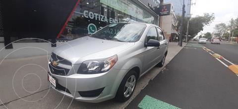 Chevrolet Aveo LS usado (2018) color Plata Brillante precio $153,000
