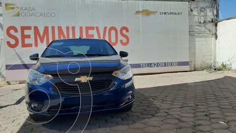 Chevrolet Aveo LT usado (2020) color Azul precio $240,000