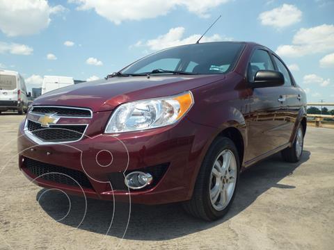 Chevrolet Aveo LTZ Aut usado (2017) color Rojo precio $140,000