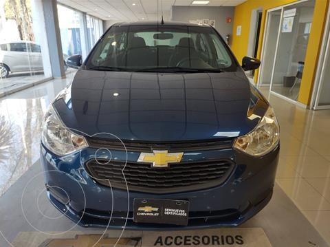 Chevrolet Aveo LS usado (2020) color Azul Acero precio $189,900