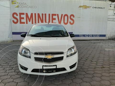 Chevrolet Aveo LS usado (2018) color Blanco precio $160,000