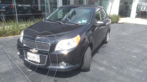 Chevrolet Aveo LTZ usado (2012) color Negro precio $98,000