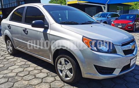 Chevrolet Aveo LT usado (2018) color Plata Brillante precio $160,000