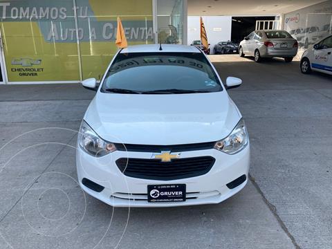 Chevrolet Aveo LS usado (2018) color Blanco precio $165,000