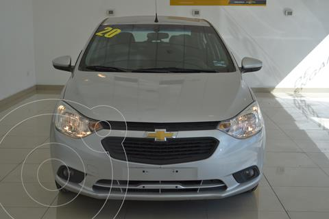 Chevrolet Aveo LT usado (2020) color Plata precio $200,000