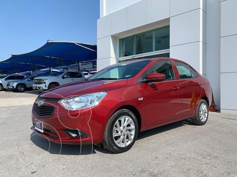Chevrolet Aveo LT Aut usado (2019) color Rojo precio $195,000