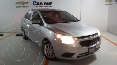 Chevrolet Aveo LS (Nuevo) usado (2020) color Plata Brillante financiado en mensualidades(enganche $48,750 mensualidades desde $3,700)
