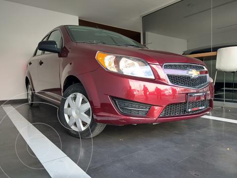 Chevrolet Aveo LT usado (2017) color Rojo precio $119,800