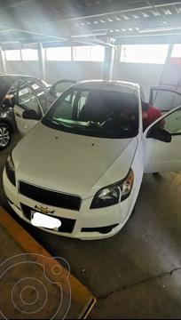 Chevrolet Aveo LT usado (2014) color Blanco precio $95,000