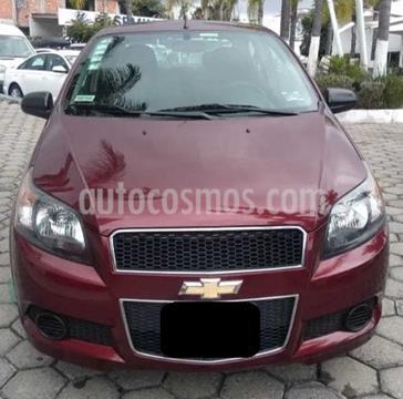 foto Chevrolet Aveo LT usado (2017) color Rojo Tinto precio $129,999