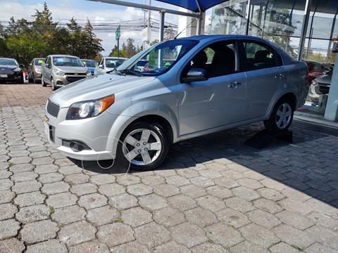 Chevrolet Aveo LT Aut usado (2017) color Plata Dorado precio $135,000