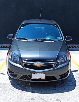 Chevrolet Aveo LT usado (2017) color Gris Oxford precio $123,000