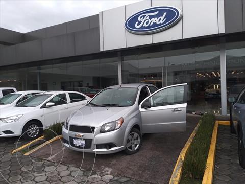 Chevrolet Aveo LT usado (2016) color Plata precio $119,000