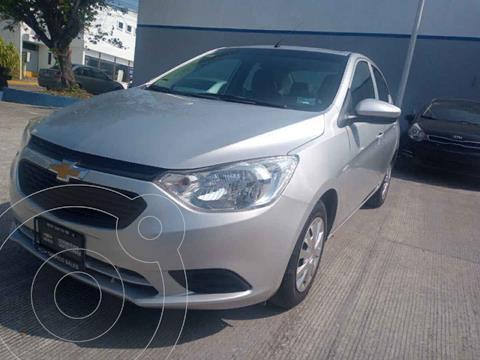 Chevrolet Aveo LS Aa usado (2018) color Plata precio $180,000
