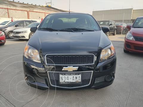 Chevrolet Aveo LT usado (2017) color Negro Grafito precio $128,000