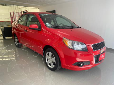 Chevrolet Aveo LS usado (2015) color Rojo precio $107,000