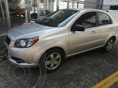Chevrolet Aveo LT usado (2017) color Plata Dorado precio $165,000