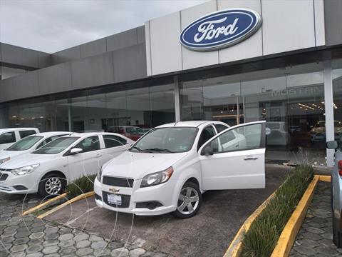 Chevrolet Aveo LT usado (2016) color Blanco precio $119,001