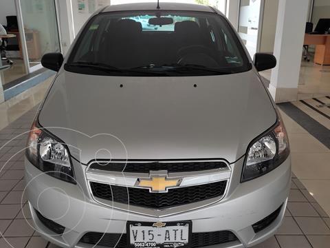 foto Chevrolet Aveo LT usado (2017) color Plata Dorado precio $134,900