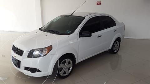 Chevrolet Aveo LS Aa usado (2017) color Blanco precio $135,000
