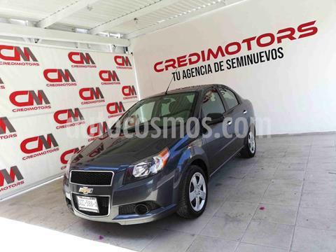 Chevrolet Aveo LT usado (2016) color Gris precio $115,000