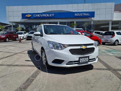 Chevrolet Aveo LS usado (2020) color Blanco precio $193,000