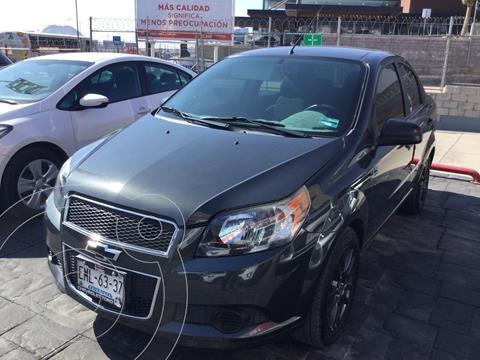 Chevrolet Aveo LS usado (2017) color Gris precio $130,000