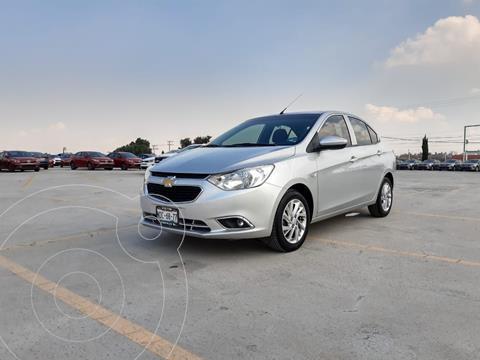 Chevrolet Aveo LTZ usado (2018) color Plata Dorado precio $175,000