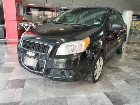 Chevrolet Aveo LS Aa usado (2012) color Negro precio $87,000