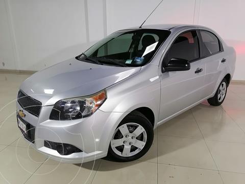 Chevrolet Aveo LS Aa usado (2013) color Plata Dorado precio $105,000