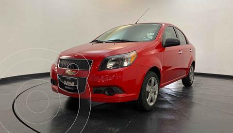 Chevrolet Aveo LT Bolsas de Aire y ABS (Nuevo) usado (2015) color Rojo precio $112,999