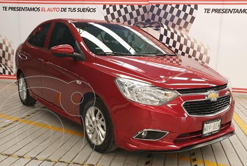 Chevrolet Aveo LTZ usado (2020) color Rojo financiado en mensualidades(enganche $120,000 mensualidades desde $2,960)