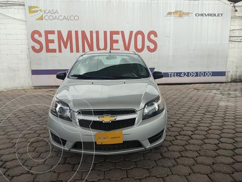 Chevrolet Aveo LS usado (2018) color Plata Dorado precio $170,000