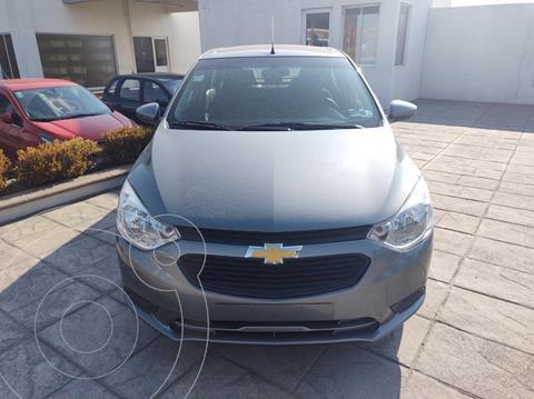 Chevrolet Aveo LS usado (2020) color Gris precio $190,000