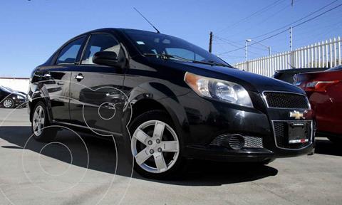 Chevrolet Aveo LT usado (2014) color Negro precio $110,990