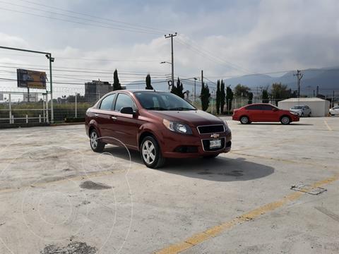 Chevrolet Aveo LT Aut usado (2014) color Rojo precio $118,900