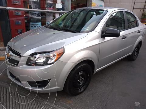 Chevrolet Aveo LS Aa usado (2018) color Plata Dorado precio $134,500