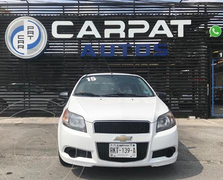 Chevrolet Aveo LS Aa usado (2015) color Blanco precio $109,000