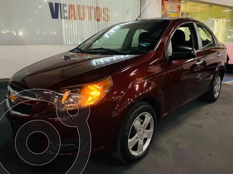 Chevrolet Aveo LT (Nuevo) usado (2017) color Vino Tinto precio $124,000
