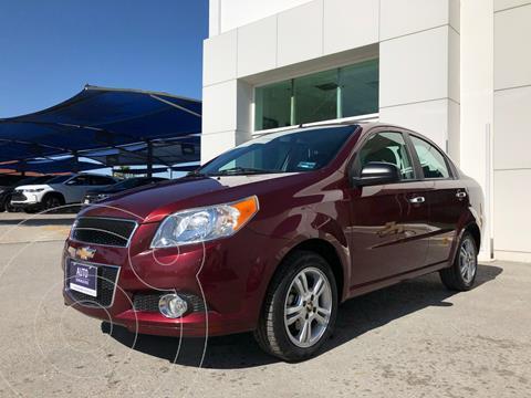 Chevrolet Aveo LTZ usado (2017) color Rojo precio $140,000