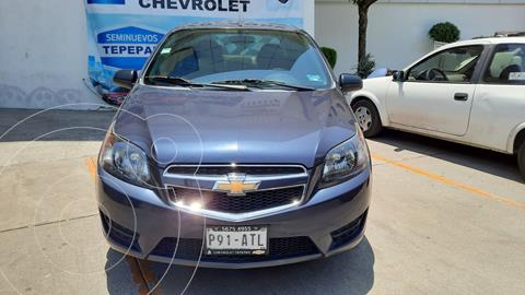 Chevrolet Aveo LT usado (2018) color Azul precio $152,000