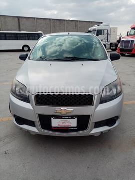 Chevrolet Aveo LS Aut usado (2015) color Plata Brillante precio $118,900