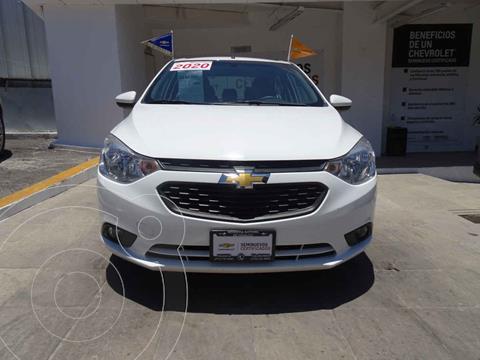 Chevrolet Aveo Paq D usado (2020) color Blanco precio $245,000