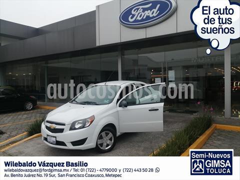 Chevrolet Aveo LS AUTOMATICO usado (2018) color Blanco precio $156,500