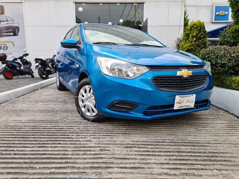 Chevrolet Aveo LS Aa usado (2018) color Azul precio $158,000