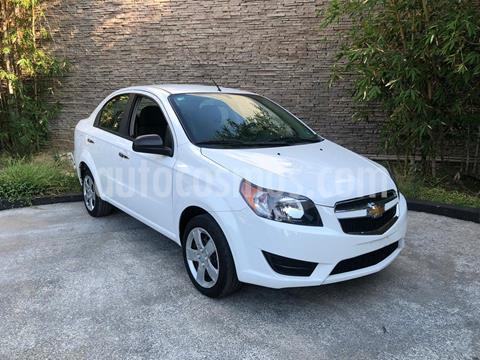 Chevrolet Aveo LT usado (2017) color Blanco precio $139,000