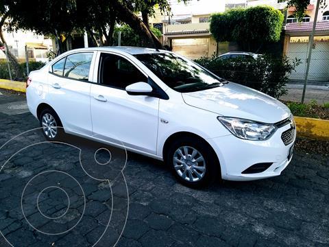 Chevrolet Aveo LS usado (2019) color Blanco precio $160,000