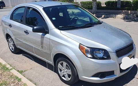 Chevrolet Aveo LS usado (2015) color Plata precio $105,000