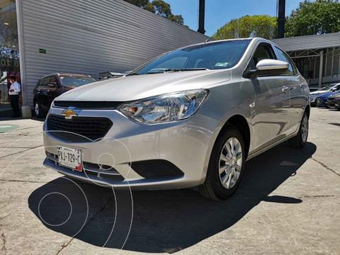 Chevrolet Aveo LS usado (2018) color Plata precio $159,000