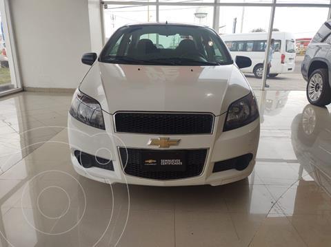 Chevrolet Aveo LT (Nuevo) usado (2015) color Blanco precio $120,000